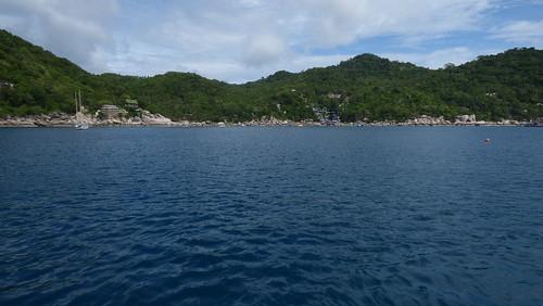 Koh Tao snorkel tour by diving catamaran